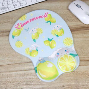 Cute 3D Cinnamoroll Lemon Wrist Rest Mat Mice Protect Computer Laptop Mouse Pad