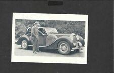 Nostalgia Postcard A Lagonda owner speaks aut his car 1939