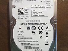 "Seagate ST9500325AS 9HH134-030 FW:0002DEM1 WU 500gb 2.5"" Sata Hard Drive"