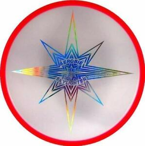 "Aerobie Skylighter Frisbee 12"" LED Light Flying Disc Arobie Frisbee Toy Rings"