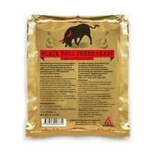 1x Turbohefe Avedore Black Bull 15-18% Alkohol Trockenhefe für 25 Liter Maische