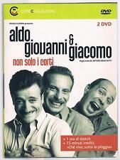 ALDO, GIOVANNI & GIACOMO NON SOLO I CORTI 2 DVD CORRIERE DELLA SERA