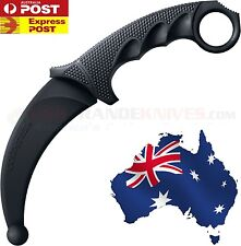 COLD STEEL - KARAMBIT KNIFE TRAINER RUBBER TRAINING TOOL CS92R49Z - SURVIVAL