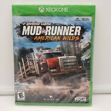 MUD RUNNER: American Wilds(Microsoft Xbox one, 2018)A Spintires Game -NEW/SEALED