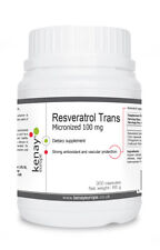 Resveratrol Trans Micronized 100 mg, 300 capsules - dietary supplement