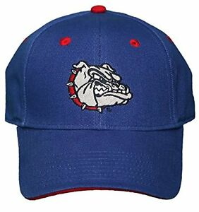 NEW!! Gonzaga University Bulldogs Adjustable Back Cap Embroidered Hat