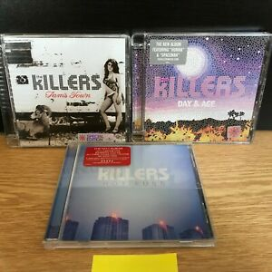 X3 The Killers CDS Sam's Town, Hot Fuss and Day and Age