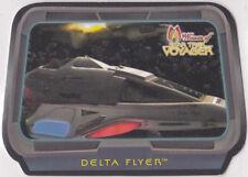 STAR TREK 2001 WOMEN OF VOYAGER HOLOFEX SPACEFEX INSERT SET (SF1-SF6) 6 CARDS