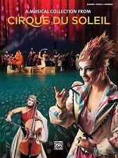 Cirque Du Soleil Collection- Songbook-ExLibrary