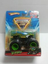 Hot Wheels Monster Jam Flag Series #43 Teenage Mutant Ninja Turtle Monster Truck