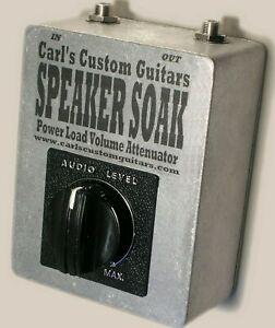 Speaker Soak Power Tube Attenuator for Fender Blues Deluxe Guitar Amplifier