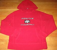 Old Navy Men's Fleece Pullover Hoodie Jacket Boulder Snow Boarding Ski Red Small