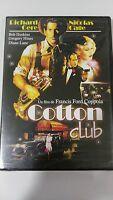 COTTON CLUB DVD RICHARD GERE NICOLAS CAGE FRANCIS FORD COPPOLA Nueva