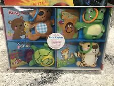Kidsbooks Read & Play Let's Explore Book And Plush Set New