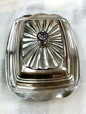 WM Rogers 989 Silver Butter Dish Antique Circa 1841