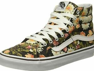 VANS Abstract Floral Demitass Sk8 Shoe High Top | Size 6