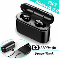 X8 TWS Bluetooth 5.0 Earbuds 5D Stereo Sound Power Bank Voice Prompt Headphones