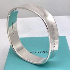 Medium Tiffany & Co Sterling Silver 1837 Square Bangle Bracelet
