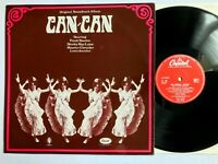 CAN CAN - Cole Porter OST Soundtrack 1960 Vinyl LP T746 VG+/VG+