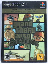 Grand Theft Auto (GTA) San Andreas Special Edition (PlayStation 2 PS2, NEW)