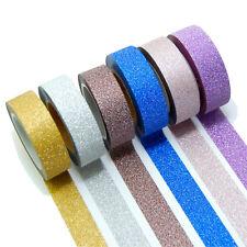 6 Rollen je 10m Washi Masking Tape Basteln Klebeband  Reispapier 0,22 Eur/m 9801