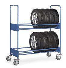 Reifenwagen Reifenregal Reifentransportwagen Wagen Tragkraft 250kg Fetra 4586