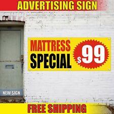 Mattress Special Banner Advertising Vinyl Sign Flag shop sale furniture custom $