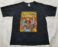 Vintage Weezer 2002 The Enlightenment Tour Band Concert T-Shirt Size M Eygnus