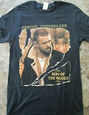 Justin Timberlake The Man of the Woods Tour Concert 2018/19 Small T Shirt Nwot