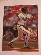 September 1991 Issue #78 Becket Baseball Card Monthly Magazine (GS2-19)