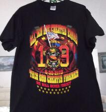 T-Shirt Mens Fallen Firefighters 19 Firemen Size L Black 6 30 2013 Yarnell