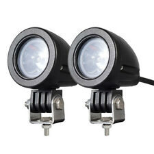 2PCS10W MINI Motorcycle Fog Driving Lights LED Spot Beam POD Work Auxiliary Lamp