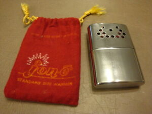 Vintage JON-E HAND WARMER With Bag 1977 Aladdin USA
