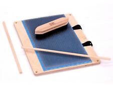 Filzrausch Kardier-Mischbrett 21x39cm Blending Board Fasern kämmen spinnen 72ppi