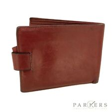 VINTAGE RED LEATHER ROLEX WALLET