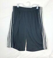Adidas Men's Climalite 3 Stripe Gym Athletic/Training Shorts-XL