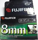 2 Fujifilm 8mm P6-120 Videocassettes NEW SEALED 120-240 minutes FREE SHIPPING