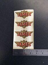 James Motorcycle Water Slide Transfer /stickers Genuine Nos