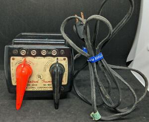Lionel Type 1033 90 Watt Transformer, vintage O Scale, Working!