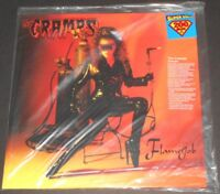 THE CRAMPS flamejob USA LP new sealed 200 GRAM limited edition #0225/1500