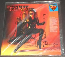 THE CRAMPS flamejob USA LP new sealed 200 GRAM limited edition #0540/1500