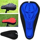 Outdoor Sport Cycling Bicycle Bike Soft Saddle Silica Gel Cushion Pad Seat Cover