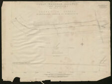 Central Line plan White City - East Acton. Du Cane Road Wormwood Scrubs 1905 map