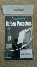 Front/Back Set of Reusable Screen Protector compatible with Apple iPhone 4/4S