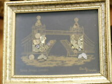 DAVID OF LONDON (ORIGINAL) HOROLOGICAL MONTAGE WESTMINSTER LONDON W/WATCH PARTS