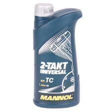 1 Liter Mannol 2-Takt Universal Motoröl API TC JASO FB Motorrad Öl  Mofa Roller