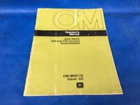 Original Vintage 1976 Cycline 340 440 Snowmobile Owners Operator Manual ORIGINAL
