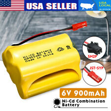 For Racing Remote Control Car Rechargeable Battery Ni-Cd 900mAh 6V JST-SYP Plug