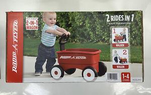 Radio Flyer: 2-in-1 Walker & Wagon, Red