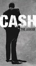 "JOHNNY CASH ""THE LEGEND""4 CD NEU (LONGFORMBOX DVD SIZE)"